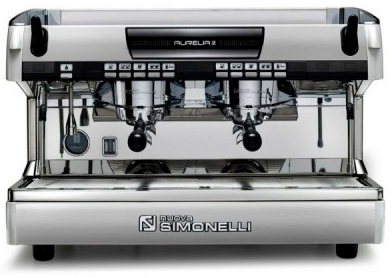 Рожковая кофемашина Nuova Simonelli Aurelia II 2Gr V 220V pearl white+LED+high groups (141019)